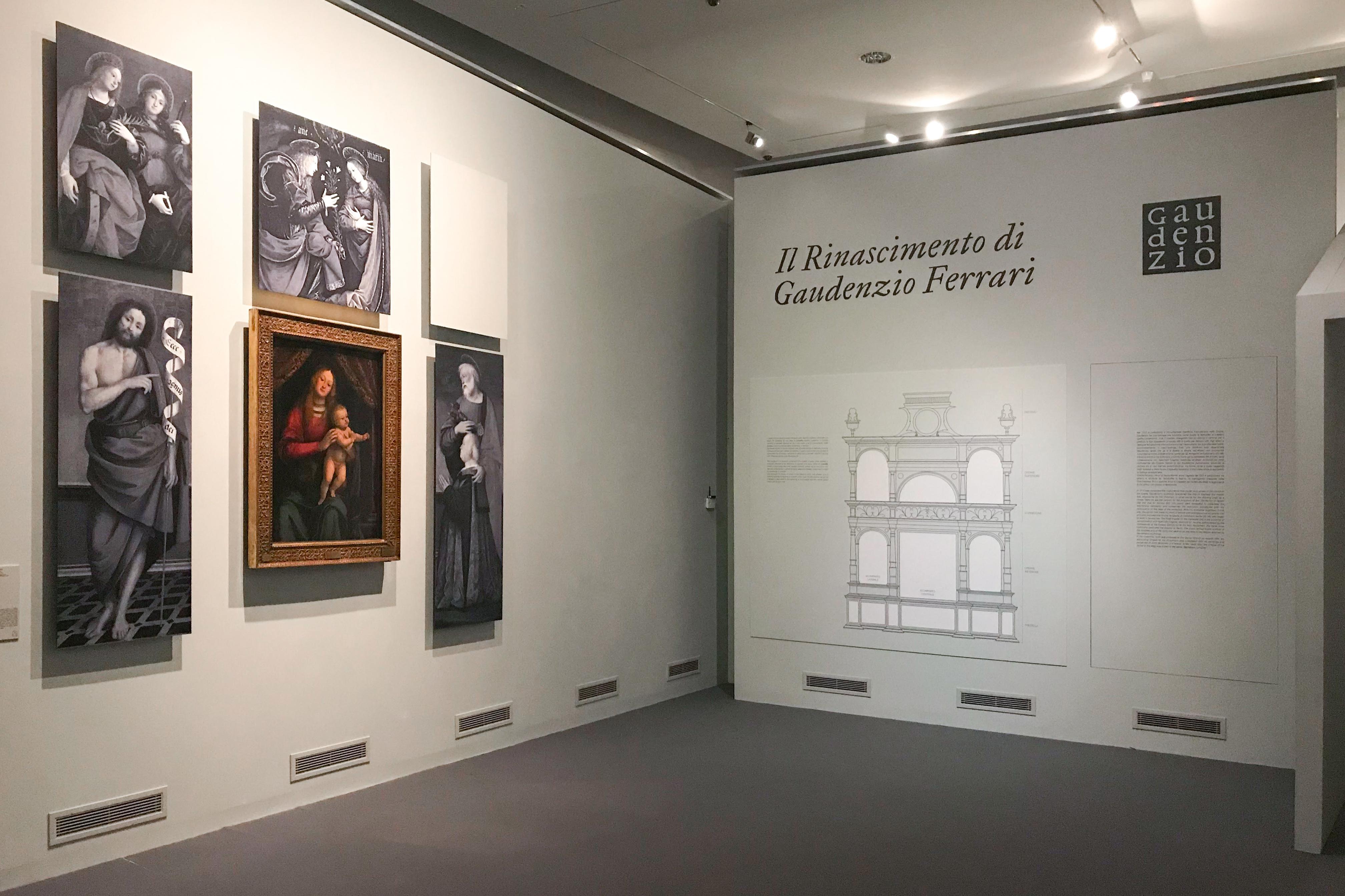 Rinascimento Gaudenzio Ferrari Varallo Sara Fortin design